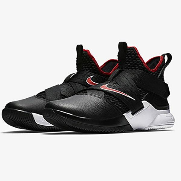 NikeLeBronSoldierXIIEPBred男鞋籃球士兵黑紅【運動世界】AO4053-001