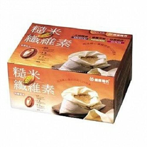 鏡感樂活市集:健康時代糙米纖維超細粉末(無糖)10gx36包盒