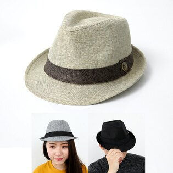 紳士帽休閒英倫爵士風紳士帽【NHB3】柒彩年代