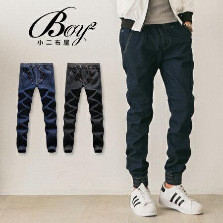 ~BOY~2~~PPK85020~潮流內鋪棉厚刷毛重磅牛仔褲