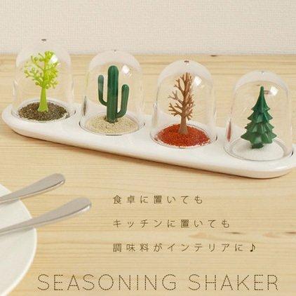 =優 =Zakka 家居Four Seasons shakers 季節滋味透明壓克力精緻植