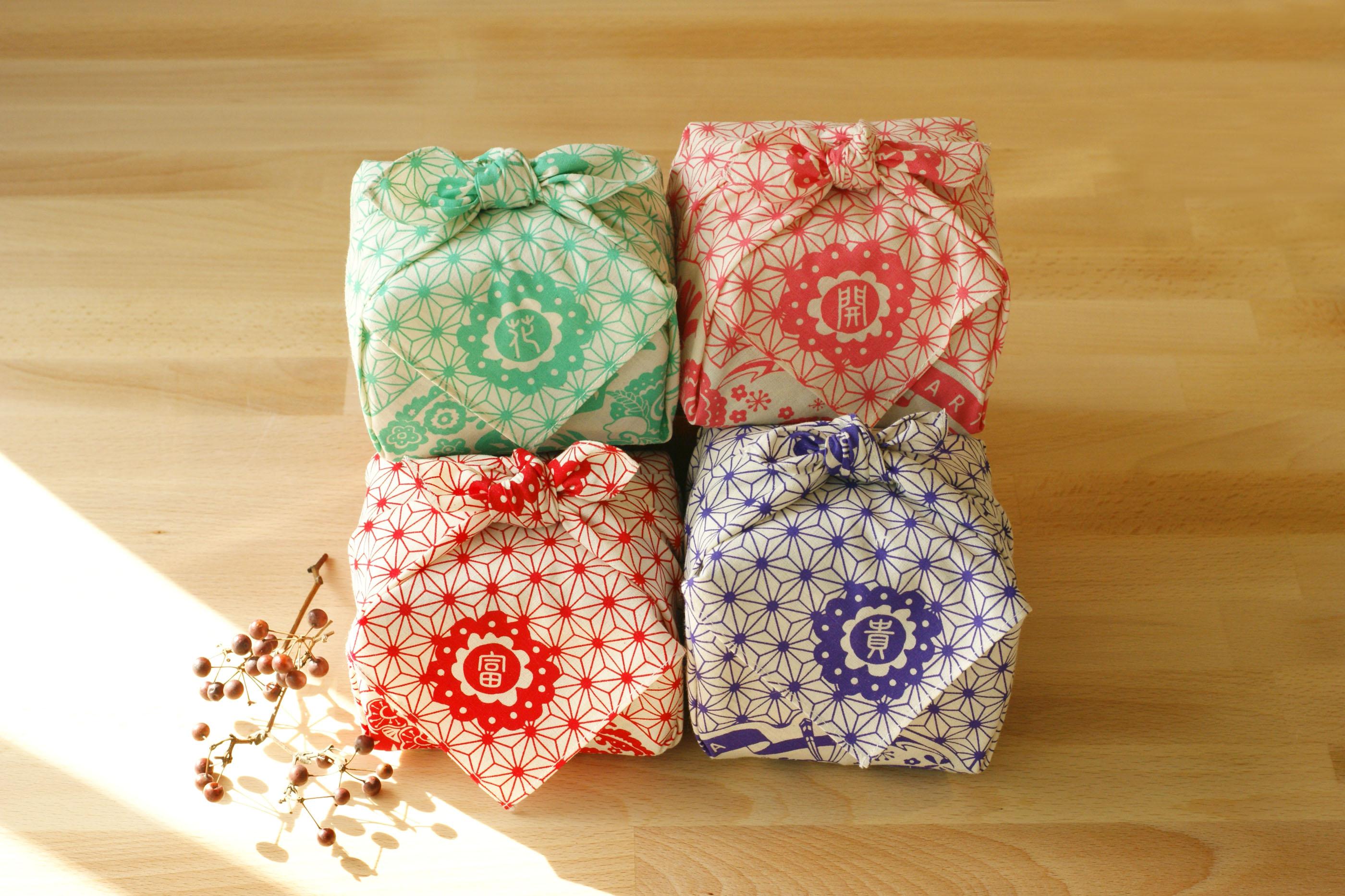 ARTEA【花開富貴】台灣茶包裹巾組合(手採手製茶X4包裹)ARTEA 千合趣 0