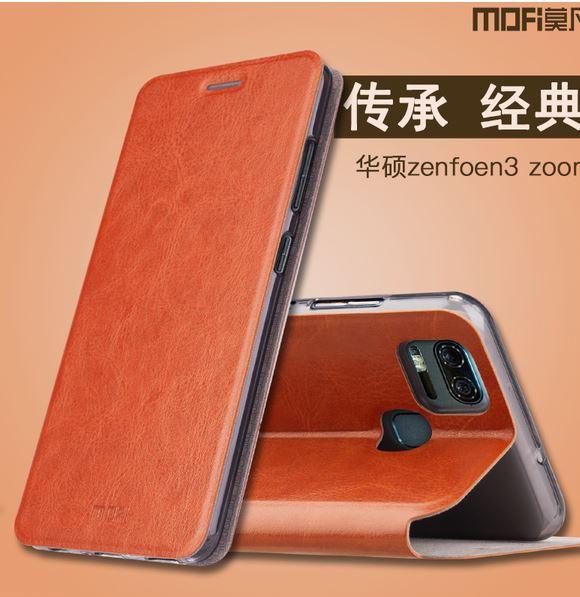 華碩 ZenFone 3 Zoom ZE553KL 莫凡新睿系列翻蓋式支架皮套