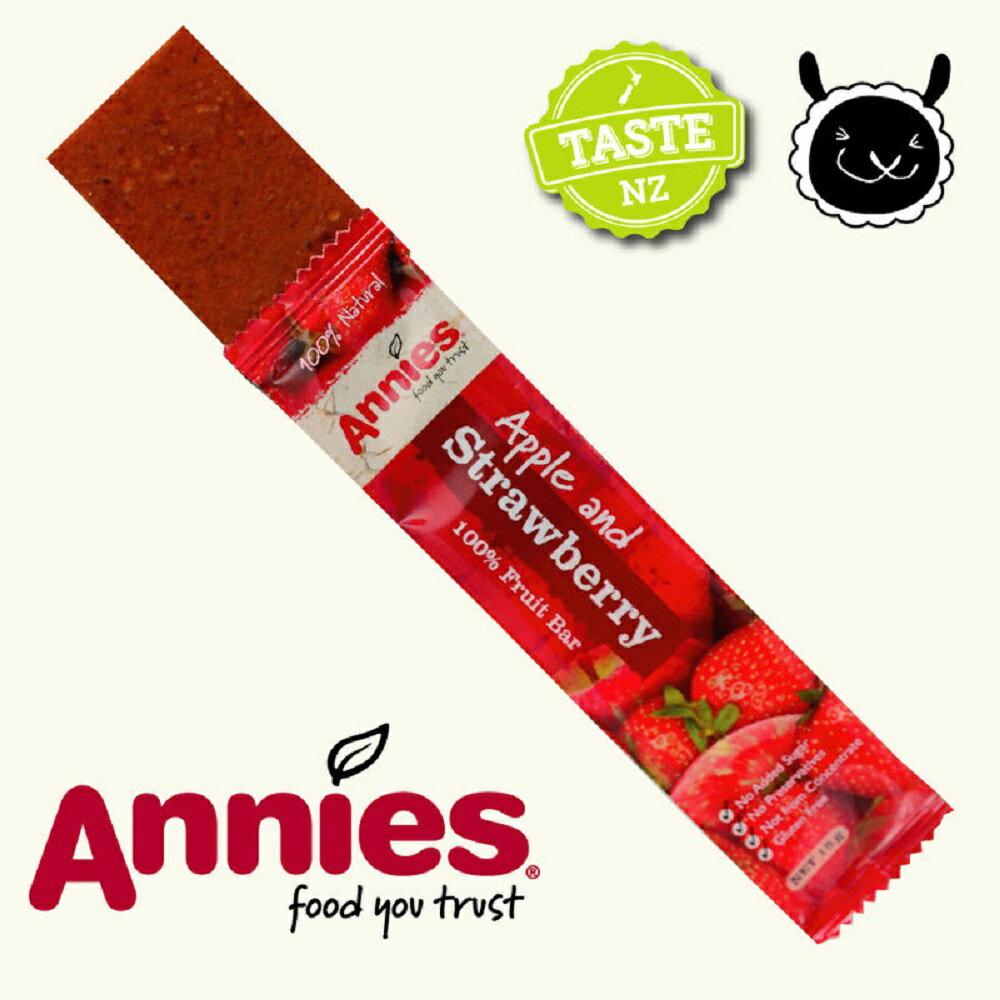 【壽滿趣- 紐西蘭原裝進口】Annies 全天然水果條(草莓15gm6片裝) 1