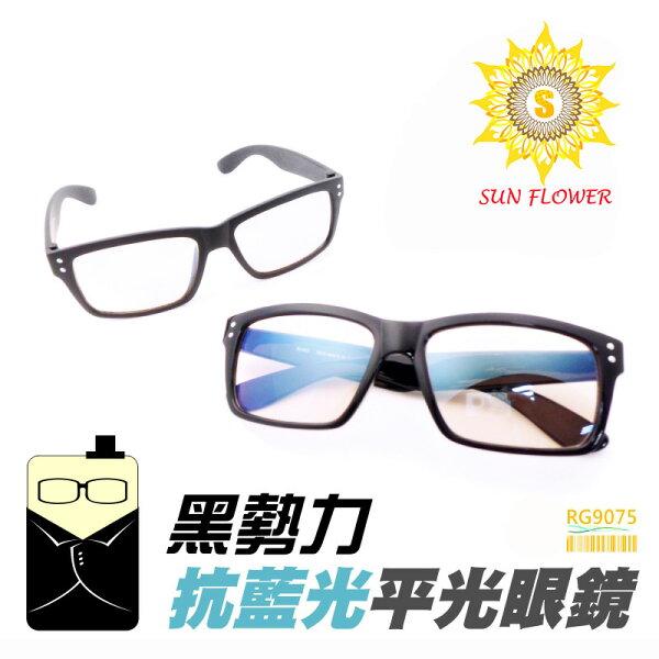 向日葵眼鏡:MIT抗藍光眼鏡平光眼鏡保護眼睛降低3C產品對眼睛的傷害(RG9075)