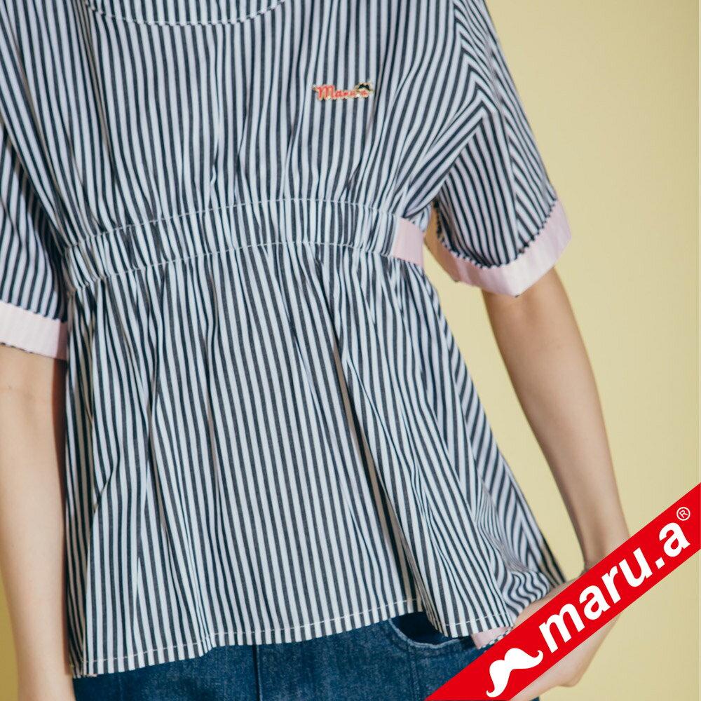 【maru.a】領口挖空舒適上衣(2色)8313112 5