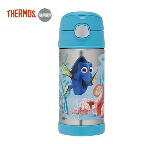 【Thermos 膳魔師】不銹鋼真空保冷瓶360ml - 尋找多莉 0