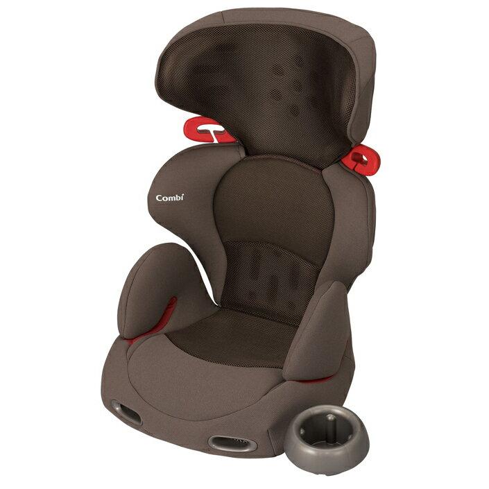 Combi康貝 - New Buon Junior成長型汽車安全座椅(汽座) -網眼棕