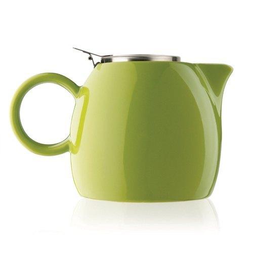 Tea Forte 普格陶瓷茶壺 - 果綠 Pistachio 送 罐裝茶(隨機出貨)