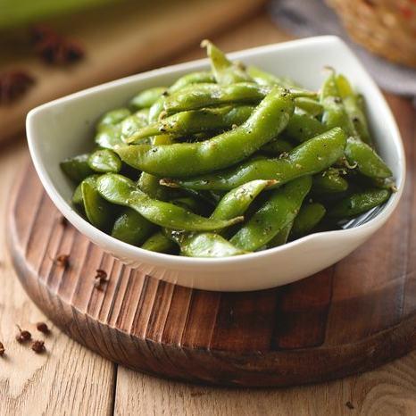 【有麵町】調味毛豆(蒜味、黑胡椒) 300克 約2~3人份