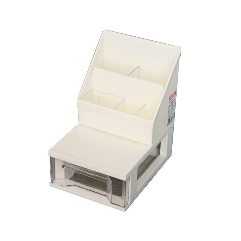 聯府好學抽屜收納盒 / 桌上盒3號小物整理盒桌上收納盒-大廚師百貨 1