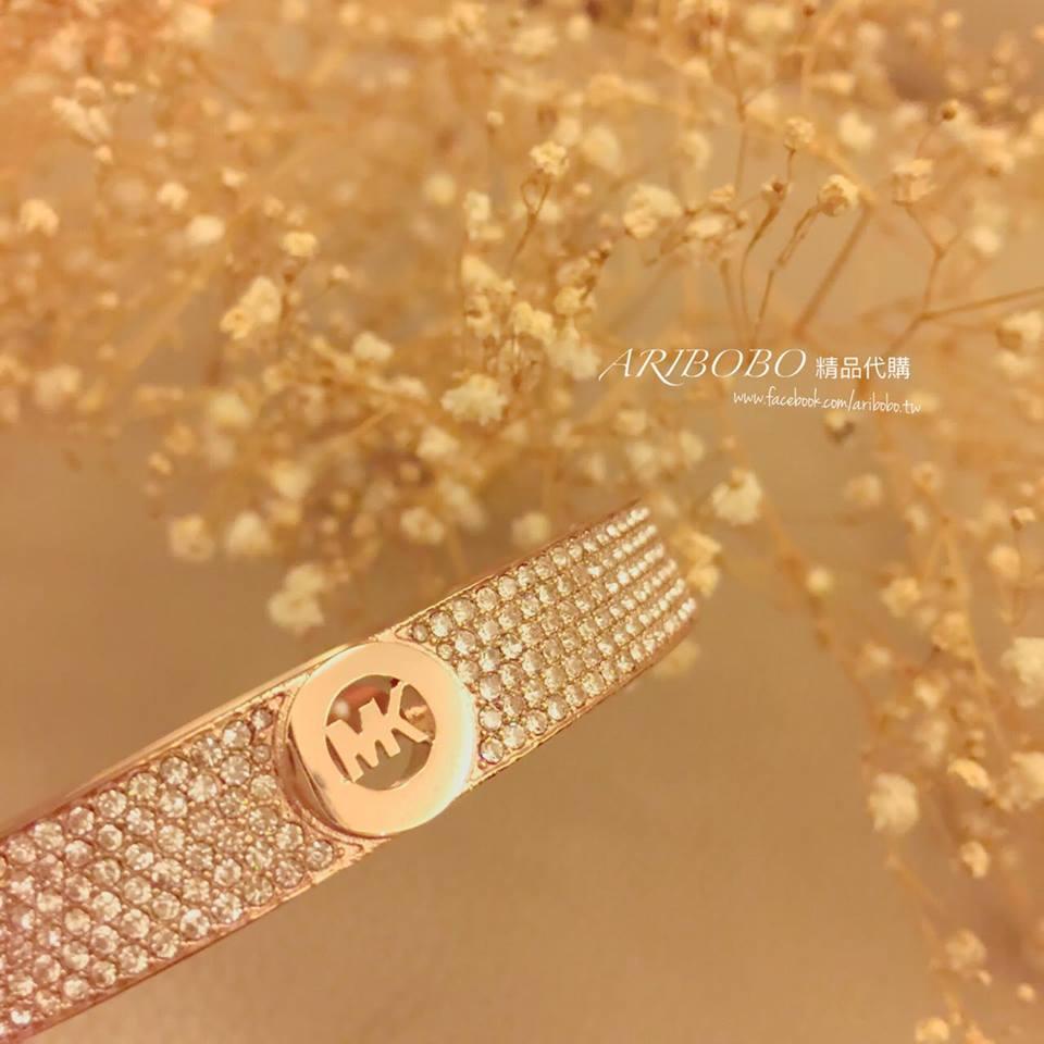 【MICHAEL KORS】MK 正品 Bracelet 手環 \ 玫瑰金【全店滿4500領券最高現折588】 1