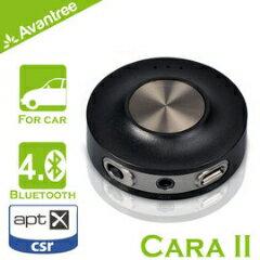 【Avantree Cara II藍芽免持/音樂接收器(BTCK-200)】支援aptX 可接聽電話/播放音樂 同時與兩支手機連接 內建鋰電池 【風雅小舖】