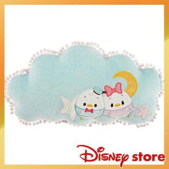 【真愛日本】4936313726121 唐老鴨黛西靠枕-ufufy雲朵系列迪士尼Donald Duck唐老鴨 靠枕 抱枕