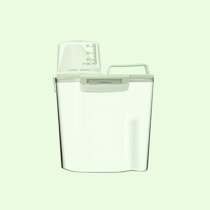 儲存桶儲糧箱 盒子密封防濕防潮家用中號寵物糧罐貓糧收納存儲狗糧『J65221』
