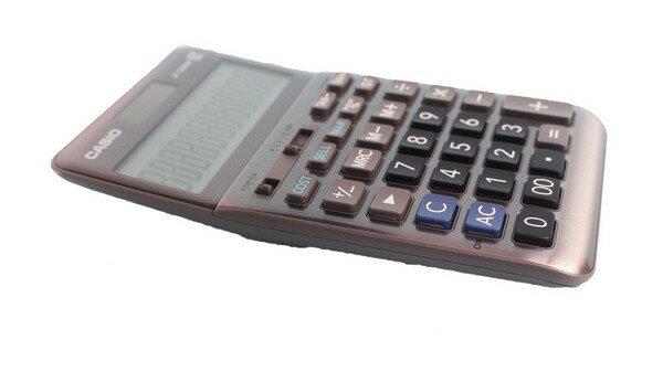 CASIO 卡西歐 JF-120FM 12位數桌上型商用計算機/一台入(促800)