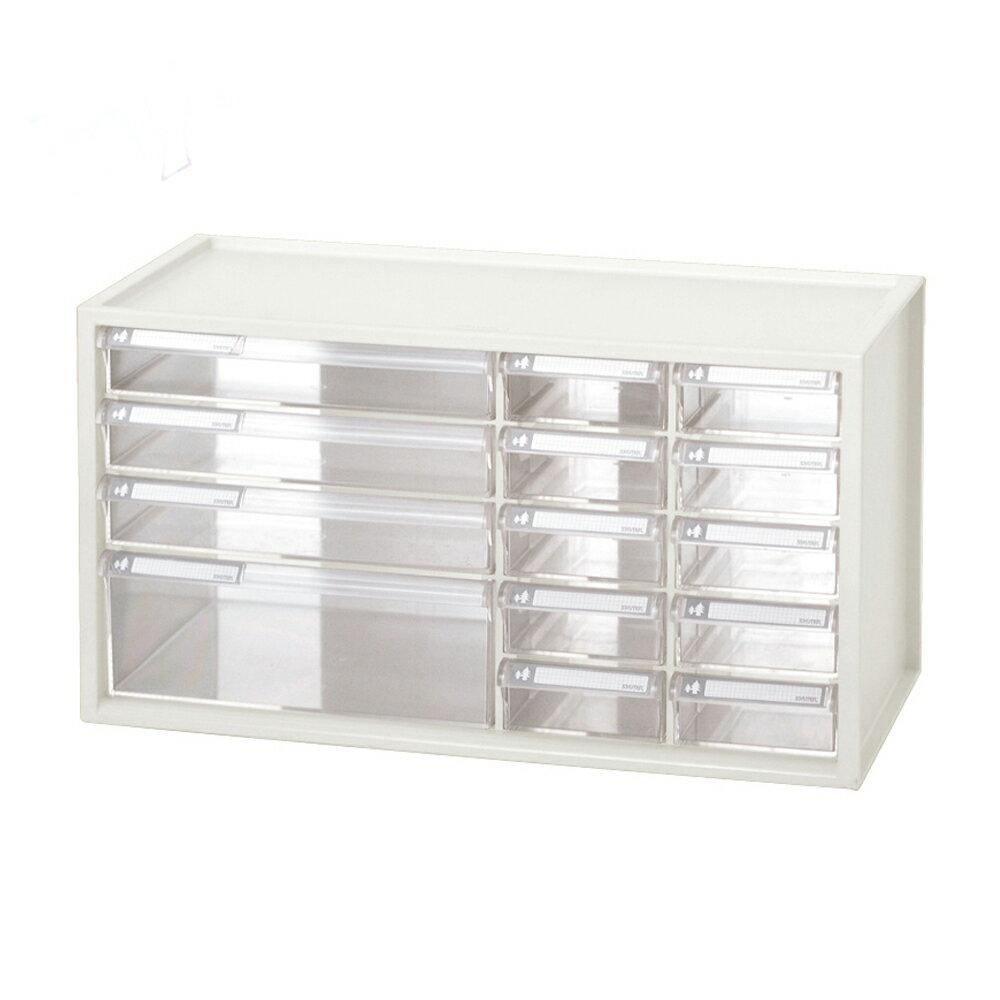 【nicegoods】小幫手抽屜分類盒(1大3中10小抽) (塑膠 分格盒 置物盒 樹德)
