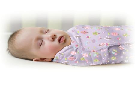 美國Summer Infant 聰明懶人純棉睡袋包巾-甜夢花園【悅兒園婦幼生活館】