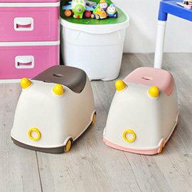 【nicegoods】牛BUBU玩具收納車(掀蓋 塑膠 整理箱)