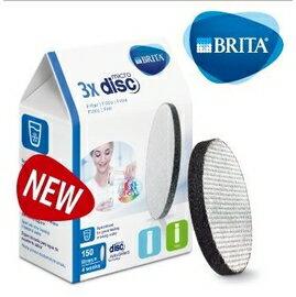 BRITA 二代Fill&Go 0.6L 隨身濾水瓶專用濾芯Filter Disc,3入裝359元