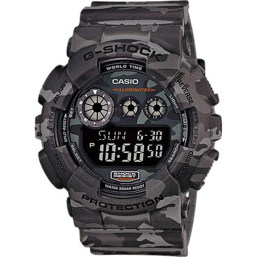 CASIO 卡西歐 G-SHOCK 玩酷叢林迷彩運動腕錶(限量) GD-120CM-8DR 原廠公司貨 附保證卡 保固期一年 手錶 運動錶 電子錶