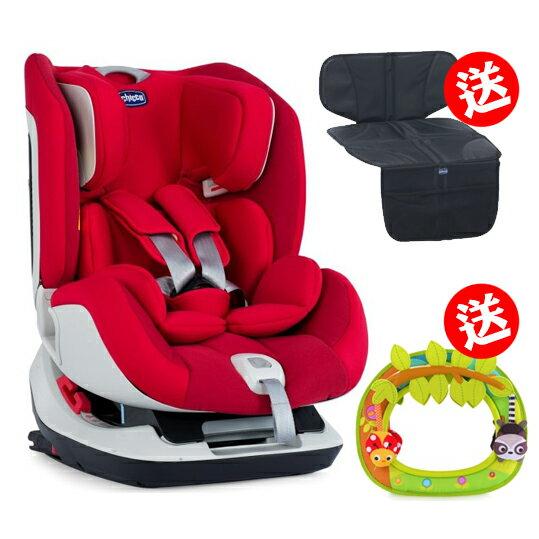 《chicco》Seat up 012 Isofix安全汽座-自信紅