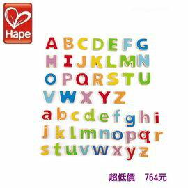 *美馨兒* 德國 Hape 愛傑卡- ABC磁鐵字母 764元