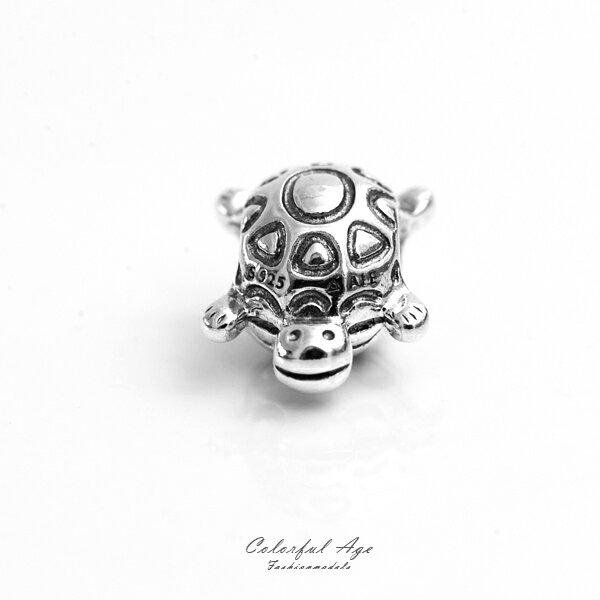 PANDORA潘朵拉925純銀墜飾-烏龜【NTP4】柒彩年代