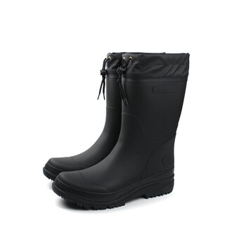 Moonstar 雨鞋 黑色 男鞋 no035