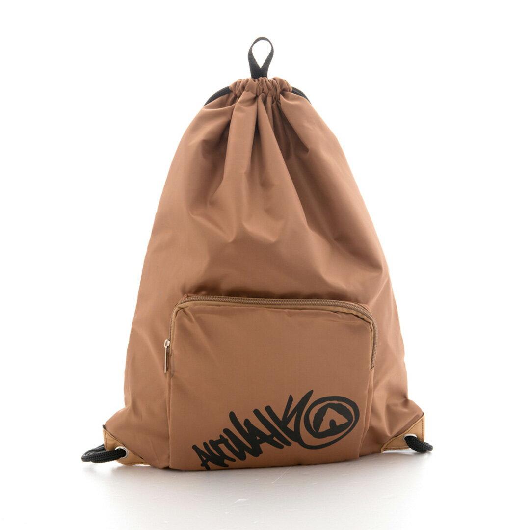 AIRWALK街頭系列-街頭主義系列-束口後背包(咖啡)
