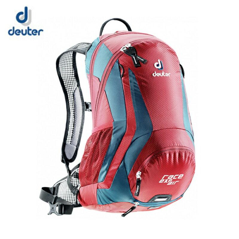 【露營趣】中和 送贈品 deuter 32133 Race EXP Air 12+3L 自行車網架背包 登山背包 水袋背包