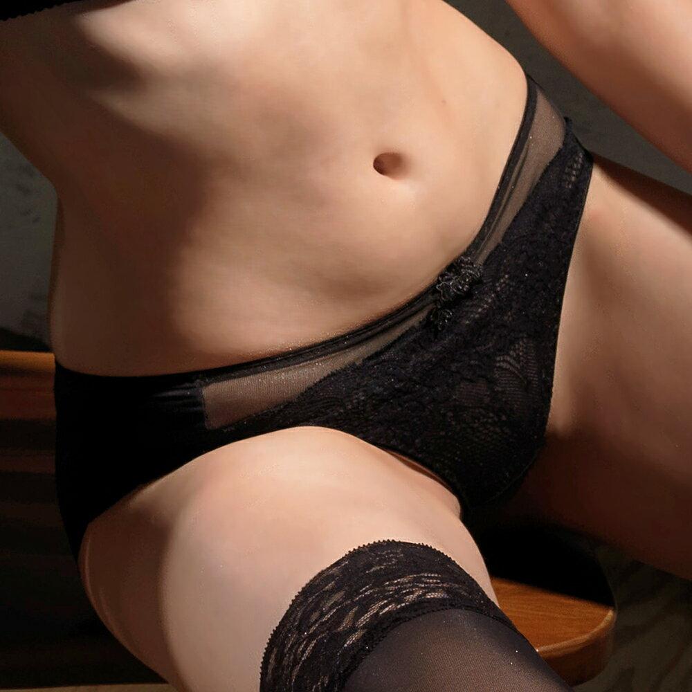 【Favori】魔力 美塑系列三角褲(魅惑黑) 2