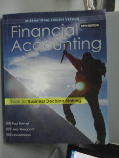 ~書寶 書T1/大學商學_QJF~Financial Accounting_Kimmel