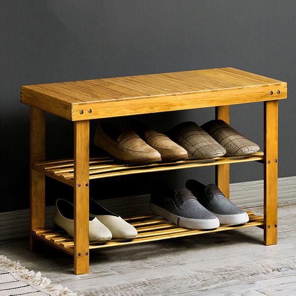 換鞋凳鞋櫃穿鞋椅木製鞋櫃鞋架鞋櫃【YV9695】HappyLife