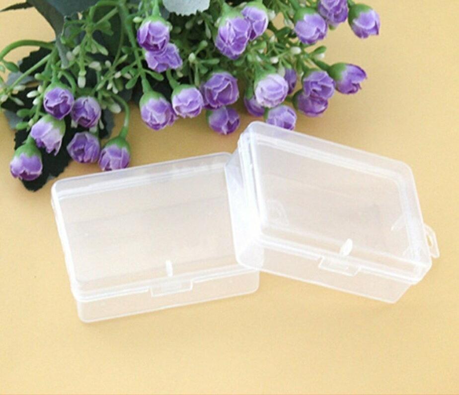 PS Mall 通用包裝盒小盒子收納盒透明塑膠盒【J1629】 0