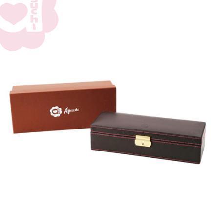 【Aguchi 亞古奇】奢華錶情-貴族棕 錶盒(氣質貴族系列) 2