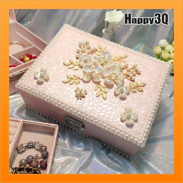 碎花收納公主風首飾盒子飾品收納手環整理項鍊戒指收納-多款【AAA4443】