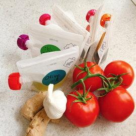 【淘氣寶寶】英國 DoddleBags 彩虹荳荳袋(萬用基本組)露營野餐旅行分裝袋【醬料、調味料聰明分裝收納】