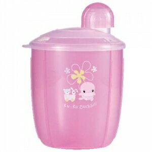 『121婦嬰用品館』KUKU 花樣四格奶粉罐 0