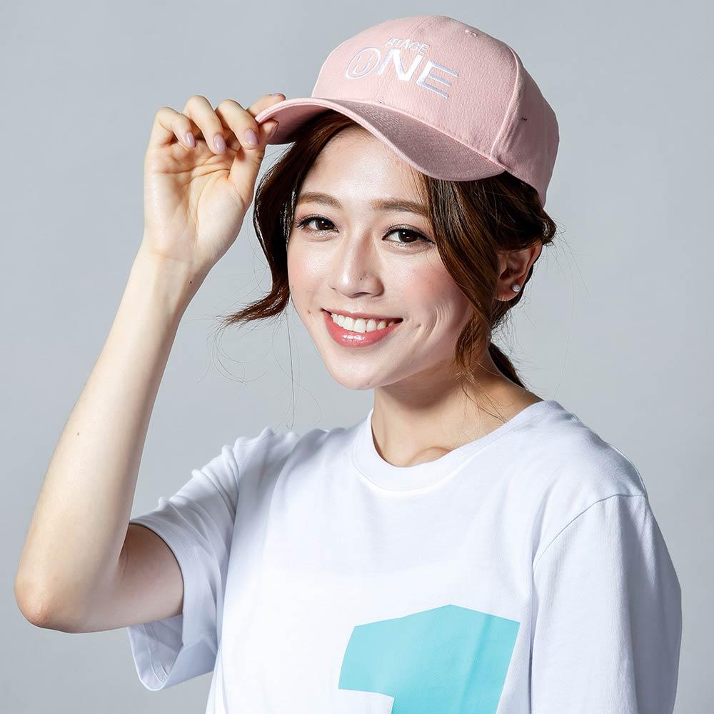 STAGEONE SMILE BASEBALL CAP 黑色   紅色   粉紅色 三色