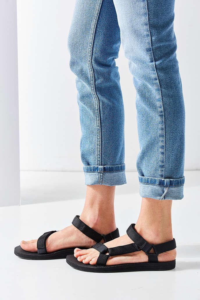 TEVA  美國 經典織帶涼鞋 TV1003987BLK 女鞋 3