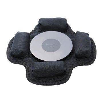 權世界@汽車用品 PeriPower 萬用型吸盤專用沙包固定車架手機架座(無邊) PA-SB01