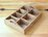 日本進口 鄉村風 Zakka 復古仿舊原木製 七格收納盒 / 置物盒 / 收納盤 ★ 夢想家精品生活家飾 ★ - 限時優惠好康折扣