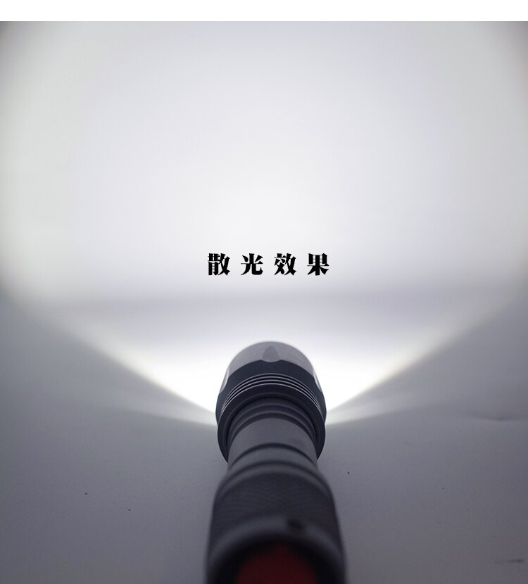千里眼 L2(暖白) 自由調焦 1250流明 超強亮度 手電筒 4