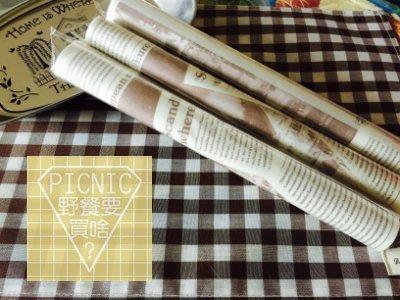 《野餐要買啥》Zakka日式雜貨英文報紙款包裝油紙