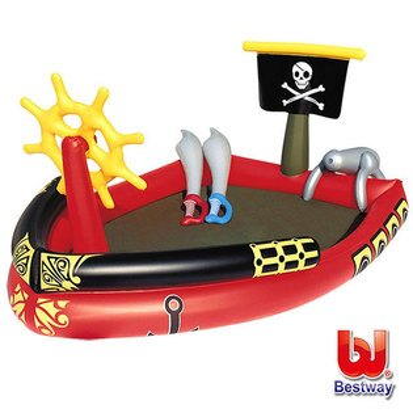 《Bestway》海盜船遊戲池(69-09326)