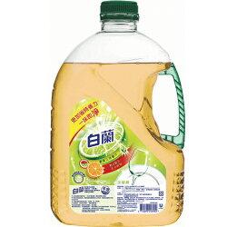 全新白蘭動力配方洗碗精(鮮柚)2.8kg【愛買】