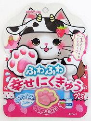 X射線【C228232】Senjaku 草莓牛奶肉掌QQ糖,點心/零嘴/餅乾/糖果/韓國代購/日本糖果/零食/伴手禮/禮盒