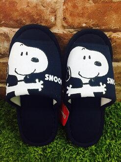 【真愛日本】 17041900039 外縫室內拖鞋-SN張手藍 史努比 SNOOPY 拖鞋 室內拖