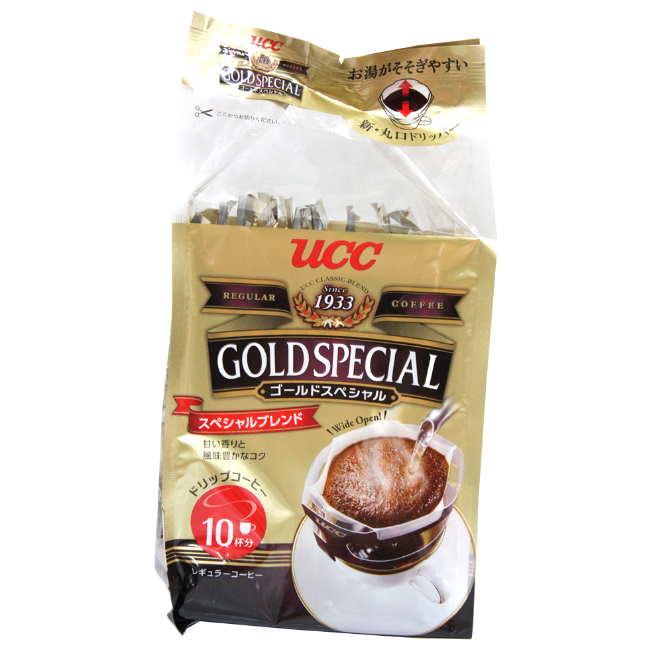 UCC 黃金特調濾掛式咖啡